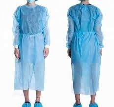 Anti Static Disposable Surgical Gown , Water Repellent PP Isolation Gown