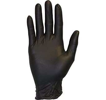 China 100% Synthetic Rubber Disposable Hand Gloves Oil Proof High Structure Strength factory